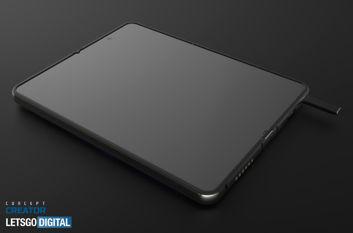 Samsung Galaxy Z Fold z rysikiem