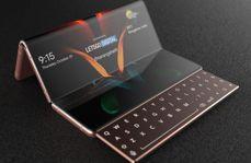 Koncept Samsunga Galaxy Z Fold 3