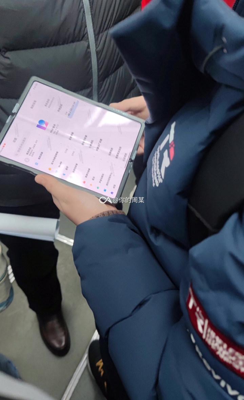 Kilka innych ujęć składanego Xiaomi