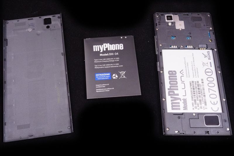 Wybitny myPhone Luna test: 5,5 cala elegancji :: mGSM.pl : Strona 5 GF53