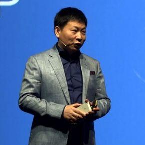 Prezes Huawei, Richard Yu na scenie