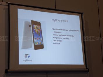 Specyfikacja myPhone Mini/Compact