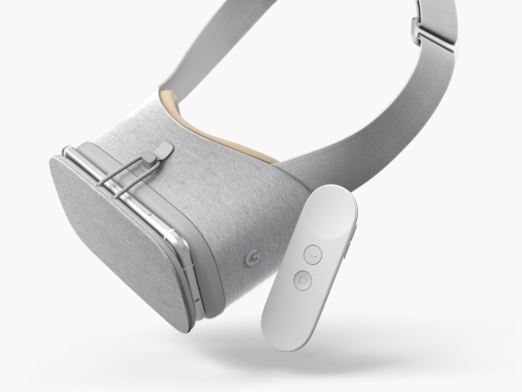 Daydream View i kontroler ruchowy