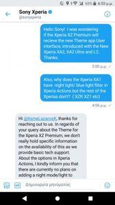 Aplikacja Xperia Actions i wyjaśnienie Sony odnośnie trybu nocnego w Xperiach XA1