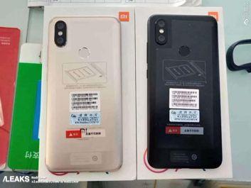 Xiaomi Mi 6X na żywo