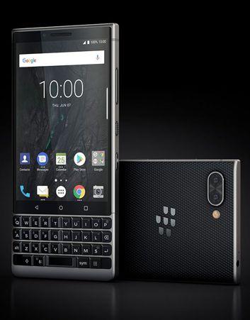 Dwa kolory BlackBerry KEY2