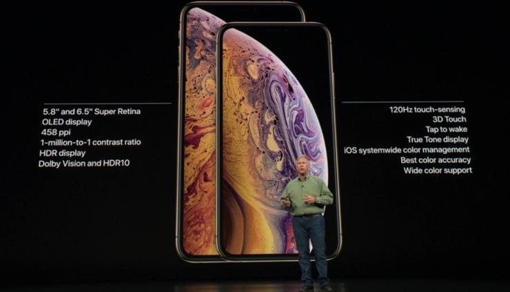 Informacje o nowych iPhone'ach Xs