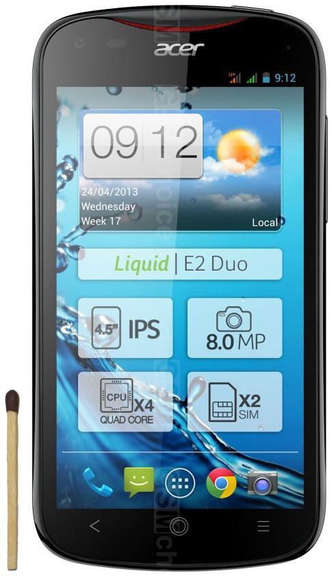 Acer Liquid E2 Duo