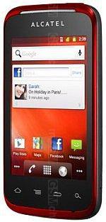 Galeria zdjęć telefonu Alcatel OT 983