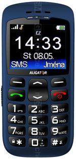 Galeria zdjęć telefonu Aligator A670 Senior
