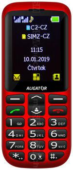 Galeria zdjęć telefonu Aligator A700 Senior