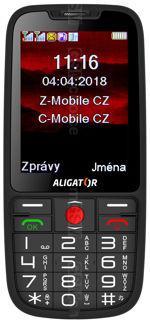 Galeria zdjęć telefonu Aligator A890 GPS Senior