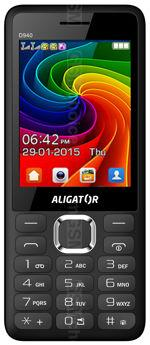 Galeria zdjęć telefonu Aligator D940