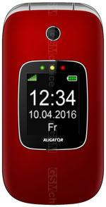 Galeria zdjęć telefonu Aligator V650 Senior