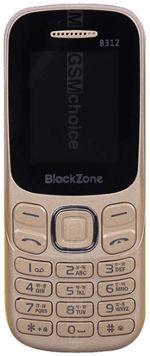 Galeria zdjęć telefonu BlackZone B312 Gold