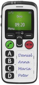 Galeria zdjęć telefonu Doro Secure 580