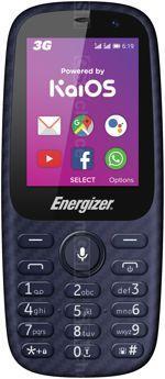 Galeria zdjęć telefonu Energizer Energy E241