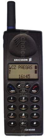 Galeria zdjęć telefonu Ericsson GH688