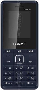 Galeria zdjęć telefonu Forme Duos N1