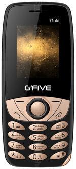 Galeria zdjęć telefonu GFive Gold