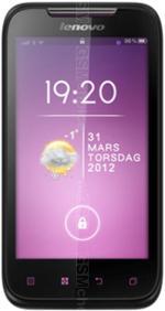 Galeria zdjęć telefonu Lenovo A700e
