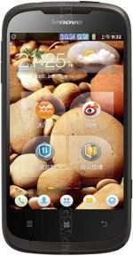Galeria zdjęć telefonu Lenovo A750