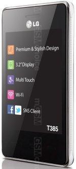 Galeria zdjęć telefonu LG T385