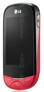 Galeria zdjęć telefonu LG T500