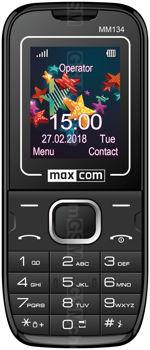 Galeria zdjęć telefonu MaxCom Classic MM134