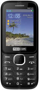 Galeria zdjęć telefonu MaxCom Classic MM143 3G