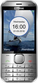 Galeria zdjęć telefonu MaxCom Classic MM330 3G