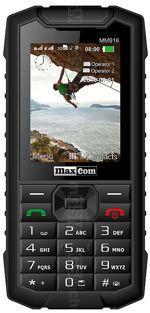 Galeria zdjęć telefonu MaxCom Strong MM916
