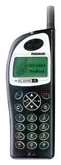 Galeria zdjęć telefonu Maxon MX 6804