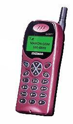 Galeria zdjęć telefonu Maxon MX 6869