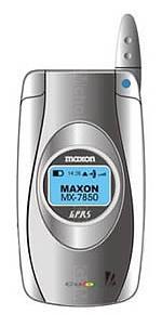 Galeria zdjęć telefonu Maxon MX 7850