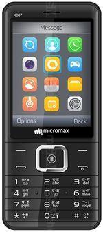 Galeria zdjęć telefonu Micromax X807