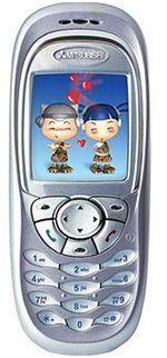 Galeria zdjęć telefonu Mitsubishi M330