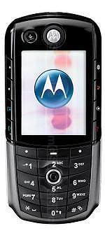 Galeria zdjęć telefonu Motorola E1000