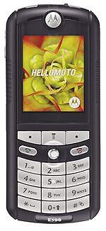 Galeria zdjęć telefonu Motorola E398