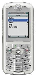 Galeria zdjęć telefonu Motorola ROKR E1