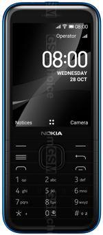 Galeria zdjęć telefonu Nokia 8000 4G