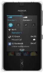 Galeria zdjęć telefonu Nokia Asha 500 Dual SIM