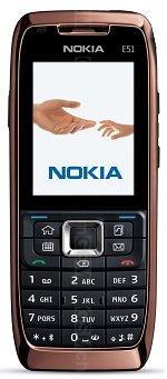 Galeria zdjęć telefonu Nokia E51