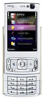 Galeria zdjęć telefonu Nokia N95