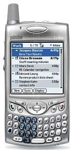 Galeria zdjęć telefonu Palm Treo 650