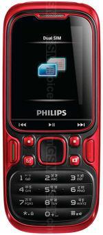 Galeria zdjęć telefonu Philips E122