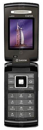 Sagem my850 Carat