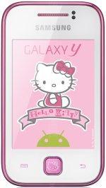 Galeria zdjęć telefonu Samsung Galaxy Y Hello Kitty