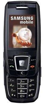 Galeria zdjęć telefonu Samsung SGH-E390