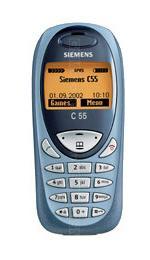 Galeria zdjęć telefonu Siemens C55